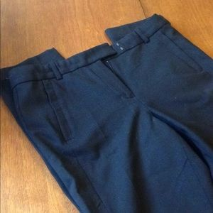 J Crew Maddie black trouser and dress pant.